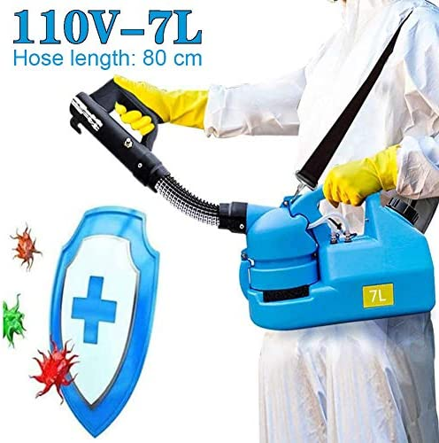 7L ULV噴霧器マシン - レストランホテル、オフィス消毒や清掃のための6M電源コードULVインテリジェントスプレーでエレクトリック・ミスト噴霧器(110V)