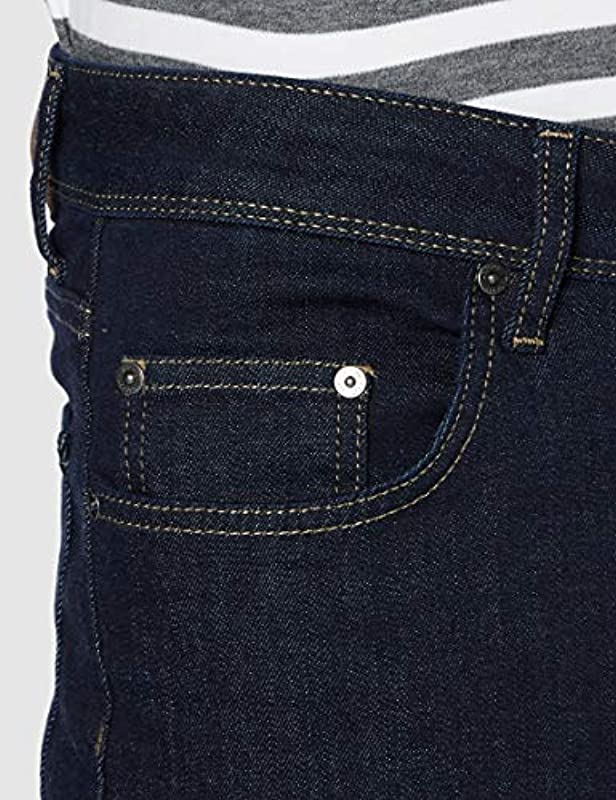 Hackett Męskie RNS Wash CLSC Straight Jeans: Odzież