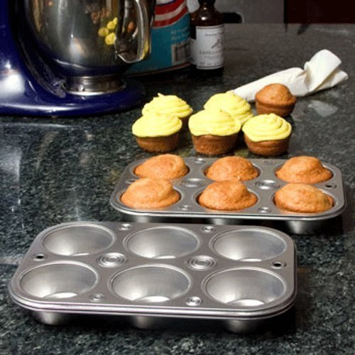 (Party & Catering Supplies - Cooking Concepts 6-Cup Muffin & Cupcake Pans - 2 ct pack)