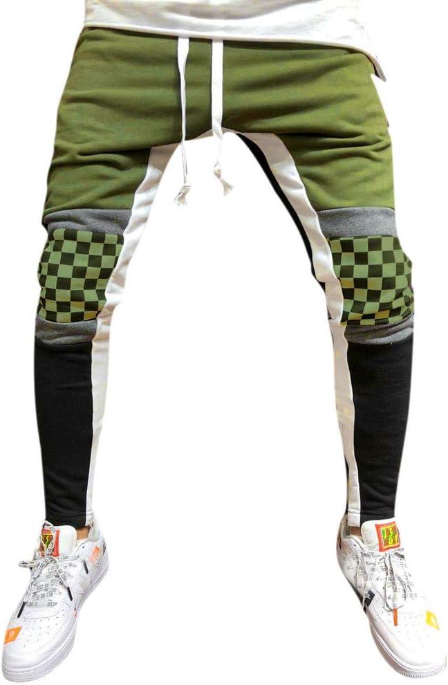 TAOtTAO - Pantalones Informales para Hombre con Pliegues y ...