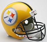 Steelers Gold 2007 Deluxe Replica Throwback Helmet - NFL Replica Helmets