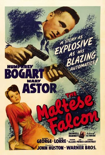 Image result for the maltese falcon movie poster amazon
