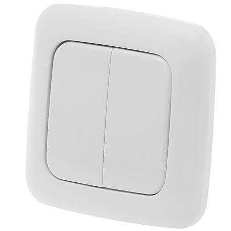 z-wave.me ZME_DW2 interruptor de luz Blanco - Interruptores de luz (Blanco): Amazon.es: Bricolaje y herramientas