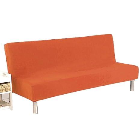 fnemo Funda para sofá o Cama, Color sólido, sin Brazos ...