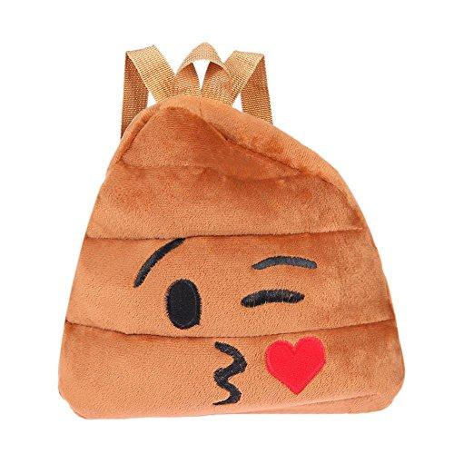 Prosperveil Bolso mochila para mujer Kiss