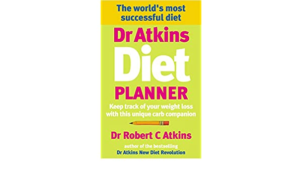 dr atkins diet planner keep track of your weight loss with this
