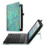 Best Keyboard With Stand Covers - Fintie Keyboard Case for All-New Amazon Fire HD Review