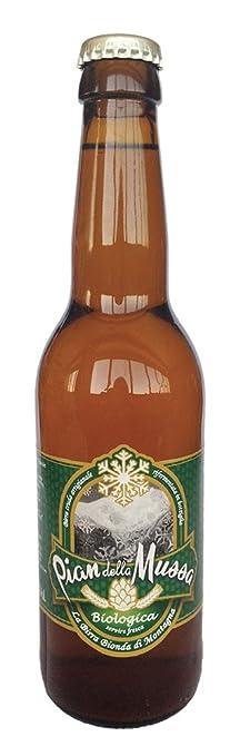 3 opinioni per Pian della Mussa Birra Cruda Artigianale Pils- 1 Bottiglia da 330 ml