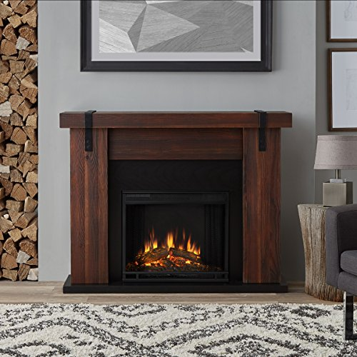 real flame electric fireplace - 6