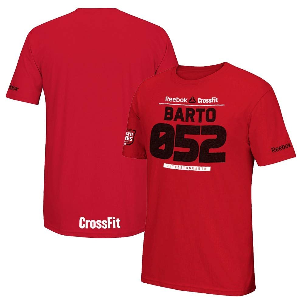 Reebok Mens 2013 Crossfit Games 052 Aja Barto Red T-Shirt