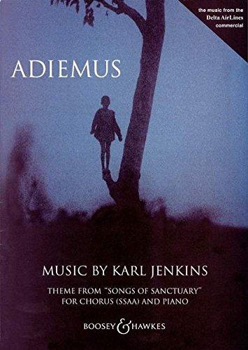 Adiemus Chant -Chant et Piano (Allemand) Partition – 1 janvier 2000 Karl Jenkins Boosey B0036YWB72 Musique