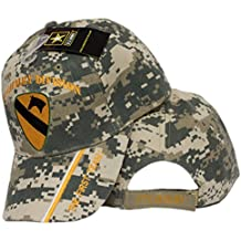 MWS US Army 1st First Cavalry Division DIV ACU Camo The First Team Licensed Embro Cap Hat