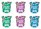 Arctic Zero Mint & Chocolate Cookies, Toffee Crunch and Peanut Butter Bakery and Dessert Gifts, 16 Fluid Ounce (pack Of 6)