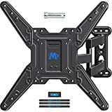 Mounting Dream Full Motion TV Wall Mount for Most 26-55 Inch TVs, Wall Mount for TV with Swivel Articulating Arms, Perfect Center Design TV Mounts Wall, up to VESA 400x400mm and 60 lbs. MD2413-MX