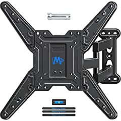 "Fits most of 26-55"" TVs. This mount fits most of 26-55"" TVs sold today. It fits TVs with mounting holes as close as 4""x4"" or as wide as 16""x16"" (in TV terms - VESA 100x100mm to 400x400mm). Specifically, it fits VESA 100X100mm, 200X100mm, 200X..."