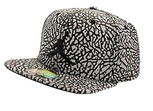 0c3cf55a12c Nike Mens Air Jordan Reflective Elephant Print Snapback Hat Black  834892-010 - Buy Online in UAE.