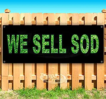 Store Many Sizes Available Flag, New WE Buy PALLETS 13 oz Heavy Duty Vinyl Banner Sign with Metal Grommets Advertising