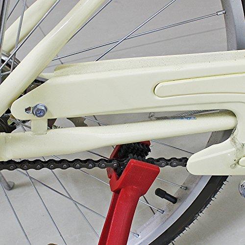PsmGoods Moto Vélo Cyclisme chaîne Pédalier Brush Cleaner outil de nettoyage (Rouge)