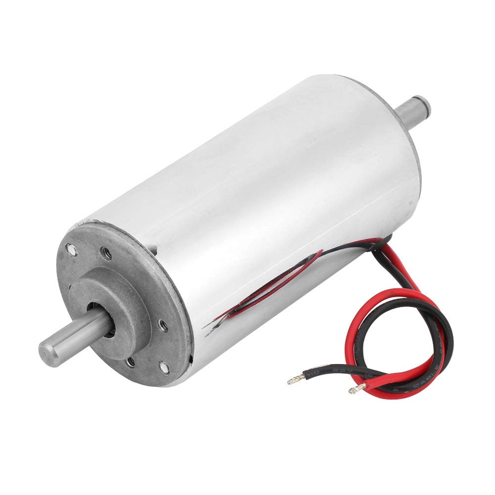 12-48V DC Brushless Motor,400W Air Cooled Spindle Motor,with Motor Driver and Clamp,Low Noise Smooth Operation,for Fan Control System,Small Appliances,Electric Tool etc