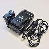 2x Ipax Battery + Home Wall Charger +Car Plug Kit for Nikon EN-EL14 ENEL14 EN-EL14a ENEL14a Compatible Nikon D3100 D3200 D3300 D5100 D5200 D5300 D5500 Coolpix P7000 7100 7700 7800 carrying case gift