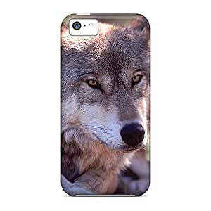 For Iphone 5c Phone Cases Covers(wolf Resting)