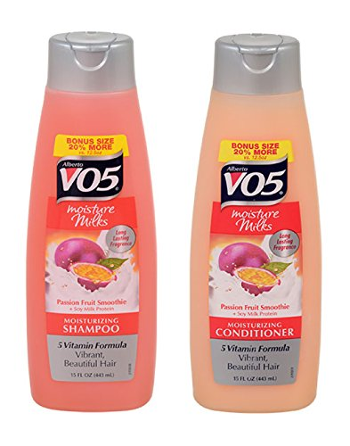 - Alberto VO5 Moisture Milks Passion Fruit Smoothie Shampoo & Conditioner, 15 Oz. (2 PACK )