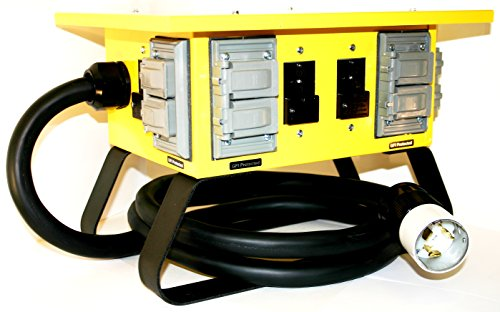 CEP Construction Electrical Products 6508GU 50-Amp Single Phase Power Box