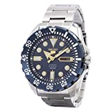 Seiko Men's Stainless-Steel Automatic Divers Watch 100M W/R (Made in Japan) - SRP605J1