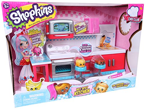 Shopkins Chef Club Hot Spot Kitchen Playset