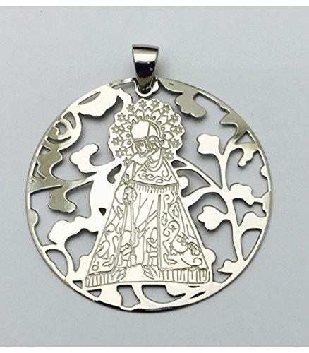 Médaille Vierge désemparés Argent Loi 925m 40mm