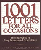 img - for 1001 Letters For All Occasions: The Best Models for Every Business and Personal Need by Corey Sandler (2004-01-01) book / textbook / text book
