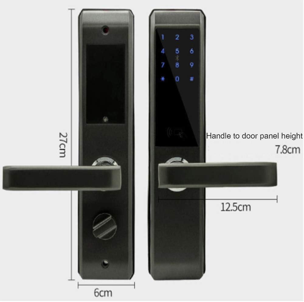 pour version Bluetooth 4.0 serrure /étanche /à c/âble 110db certification IP44 /étanche Serrure intelligente de cha/îne Bluetooth performances antivol fortes