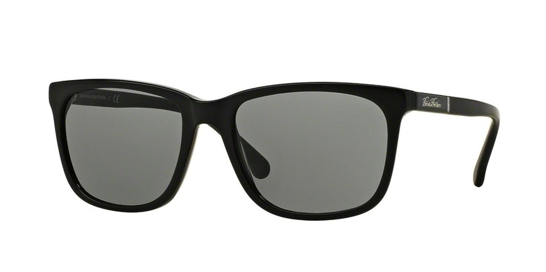 c3b76374cb8 Brooks Brothers BB5027S Sunglasses 609587-57 - Black   Matte Black Frame