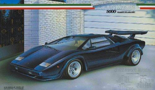 フジミ模型 1/24 エンスージアストモデルシリーズNo.14 カウンタック 5000 クアトロバルボーレの商品画像