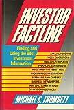 Investor Factline, Michael C. Thomsett, 0471616850