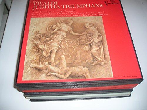Grazia Magazine - Vivaldi Juditha Triumphans Oratorio Oralia Dominguez Irene Companez Maria Grazia Allegri Bianca Maria Casoni Emilia Cundari