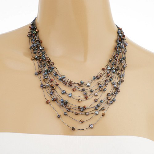 Cultured Freshwater Pearl Cluster - 8
