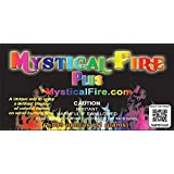 Mystical Fire PLUS Campfire Fireplace Colorant Packets (12 Pack, Mystical Fire Plus)