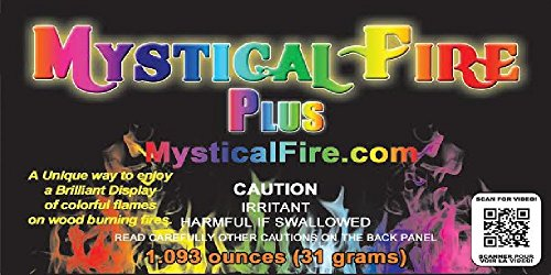 Mystical Fire PLUS Campfire Fireplace Colorant Packets (24 pack, Mystical Fire Plus) by Mystical Fire