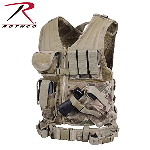Rothco Tactical Cross Draw Vest - Multicam