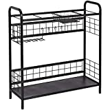 AmazonBasics Sporting Goods Storage Organizer Shelf - Black