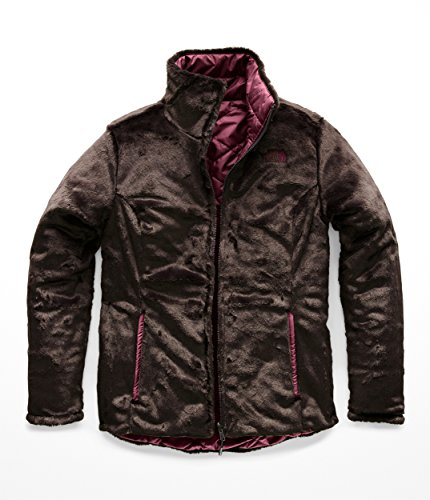 (The North Face Women's Mossbud Insulated Reversible Jacket Fig/Bittersweet Brown)