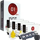 DOT-01 4x Brand 1500 mAh Replacement Nikon EN-EL12 Batteries for Nikon a900 DSLR Camera and Nikon ENEL12 Accessory Bundle