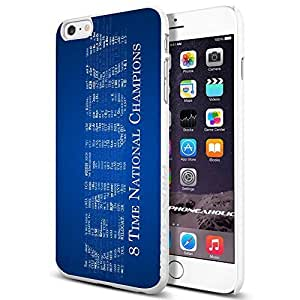Kentucky University text , , Cool iPhone 6 Plus (6+ , 5.5 Inch) Smartphone Case Cover Collector iphone TPU Rubber Case White [By PhoneAholic]