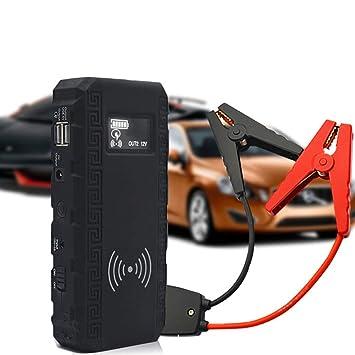 ACCDUER Coche Jump Starter Auto Cargador de batería y ...