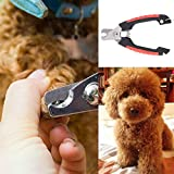 Baynne Professional Pet Nail Clipper, Stainless Steel Nail Trimmer for Dogs and Cats