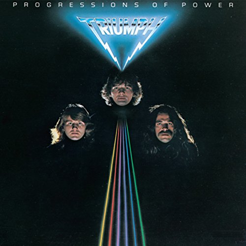 CD : Triumph - Progressions of Power (Remastered)