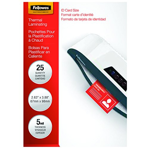 fellowes-laminating-pouches-thermal-id-tag-punched-5-mil-100-pack-52016