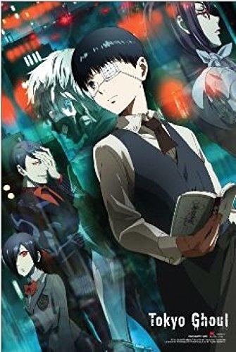 TOKYO GHOUL Kaneki & Friends (Anime) Poster Print (24 x 36) (Friend Poster Best Print)