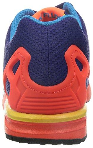 Porpora Adidas Zx Sneakers System Unisex Moda Flux Scarpe Per Arancione Originals Torsion n1Owq1HY